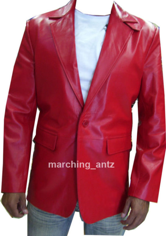 1 btn red blazer