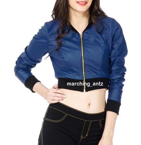 Ladies Leather Jacket Women 311 – MarchingAntz | Online Leather ...