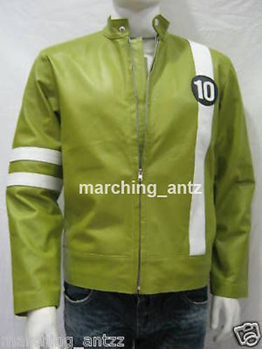 Ben 10 Leather Jacket Cartoon Movie Character