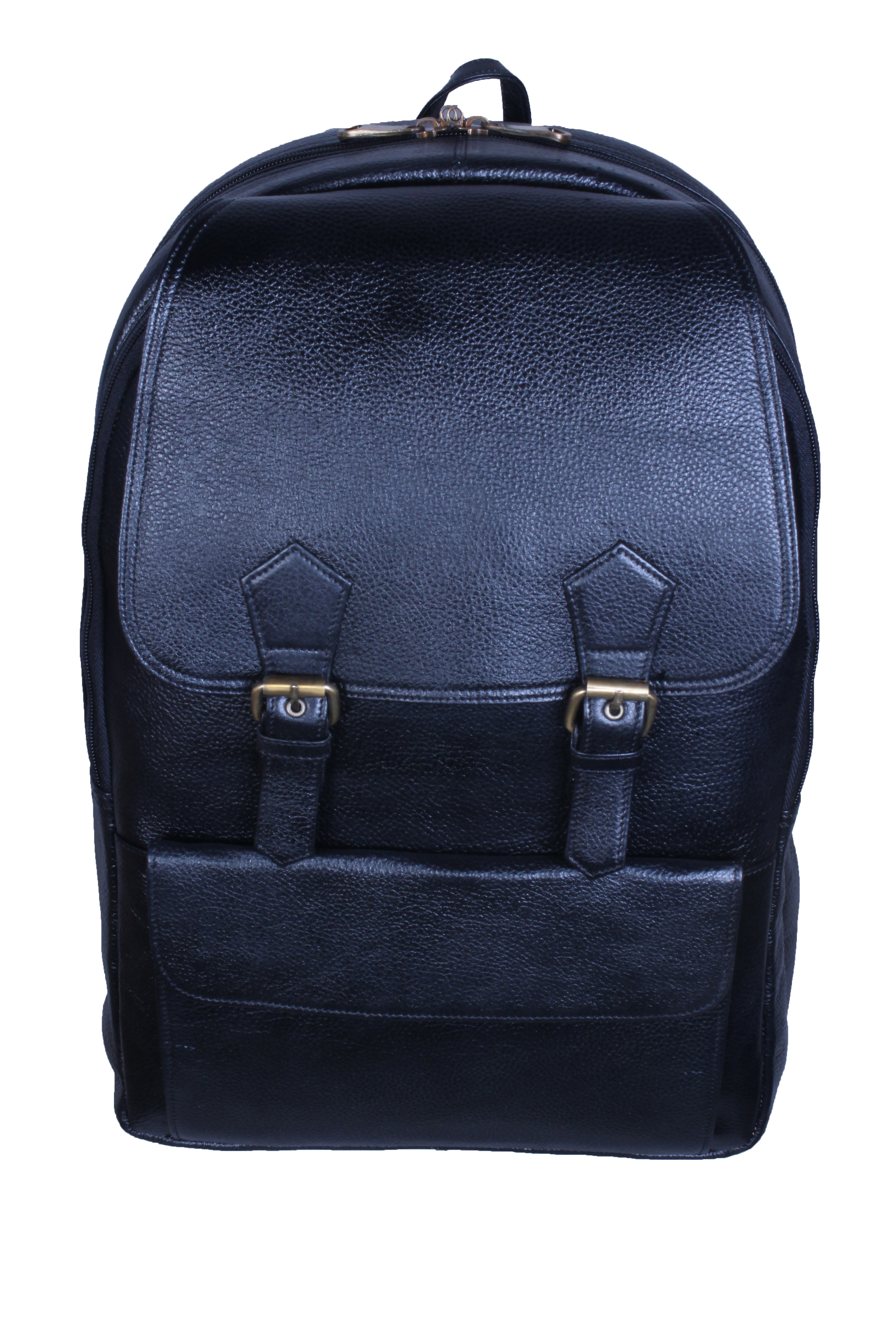 Leather laptop backpack bag for men and women 2B  7c62bc05db